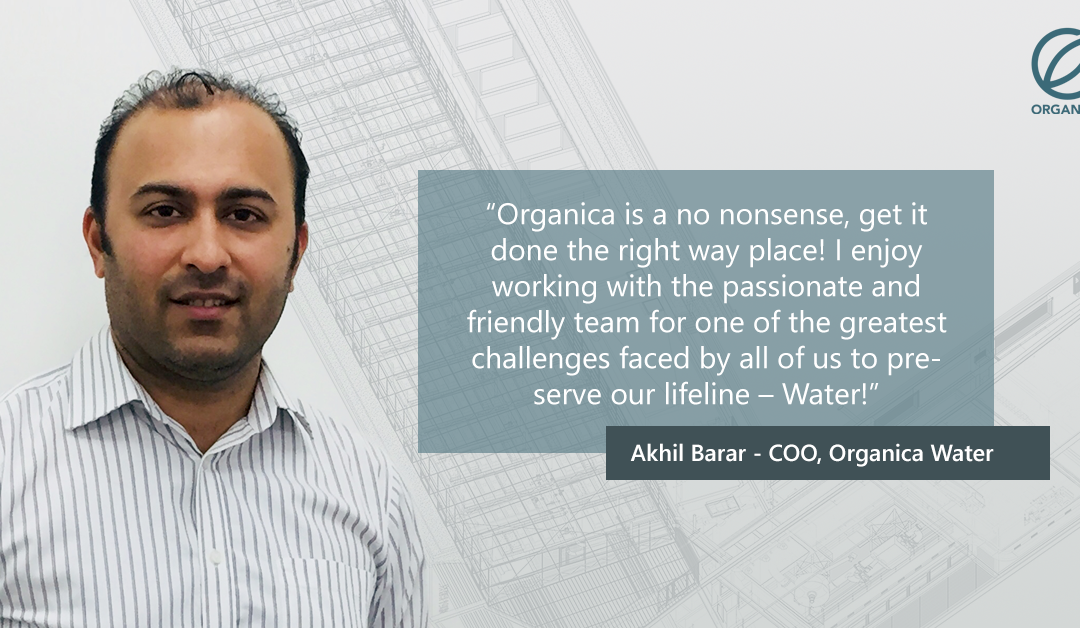 An Inside Look: Get to Know Organica Water's COO Akhil Barar
