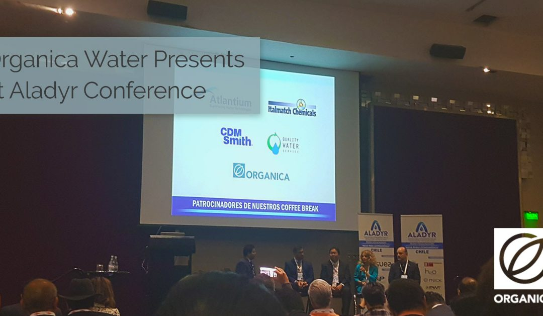 Organica Water Presents at ALADYR Conference