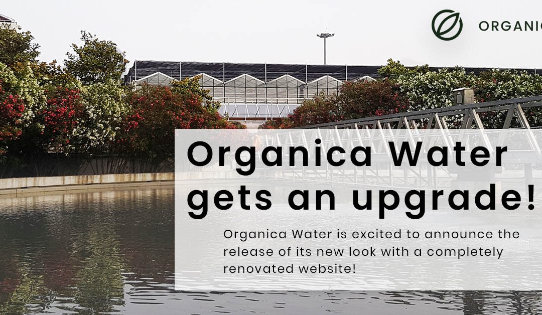 Organica Water Announces Launch of New Website